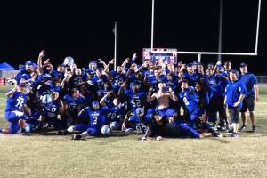 Varsity Football 2013 District Champs