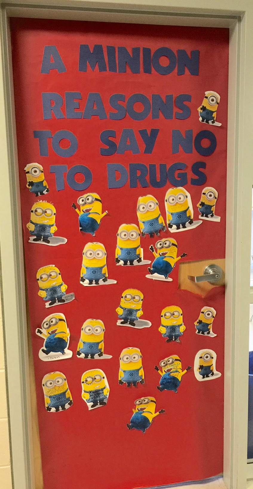 Red ribbon week anclote high school congratulations to ms webers and mrs lansers first period classes in winning the red ribbon week door decorating contest this year vtopaller Choice Image