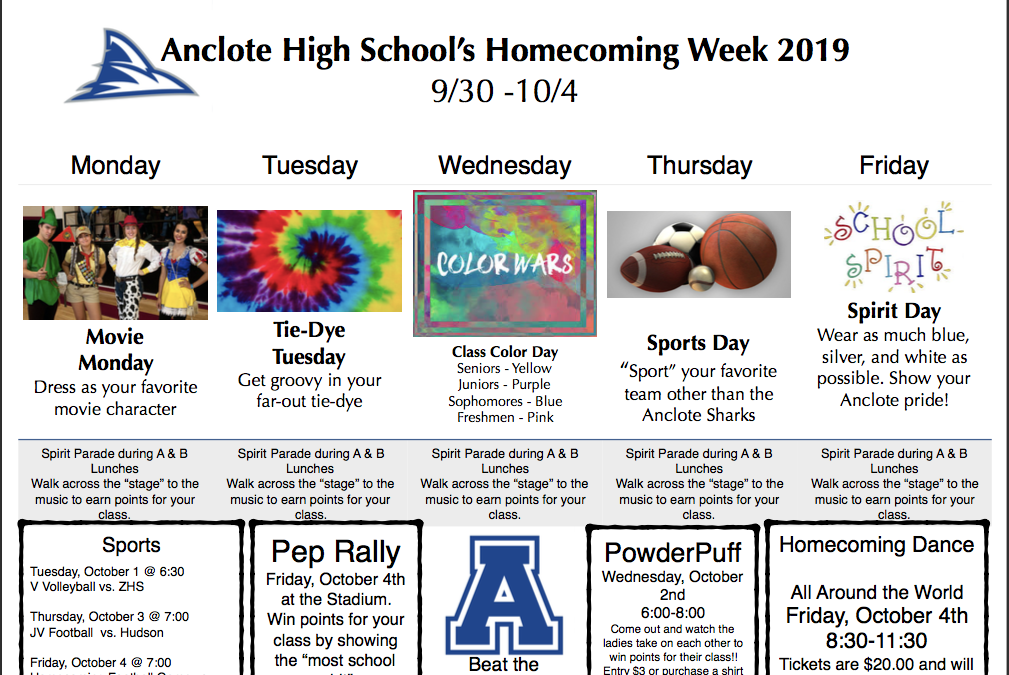 Homecoming Week 2019!