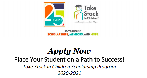 Take Stock in Children Scholarship!