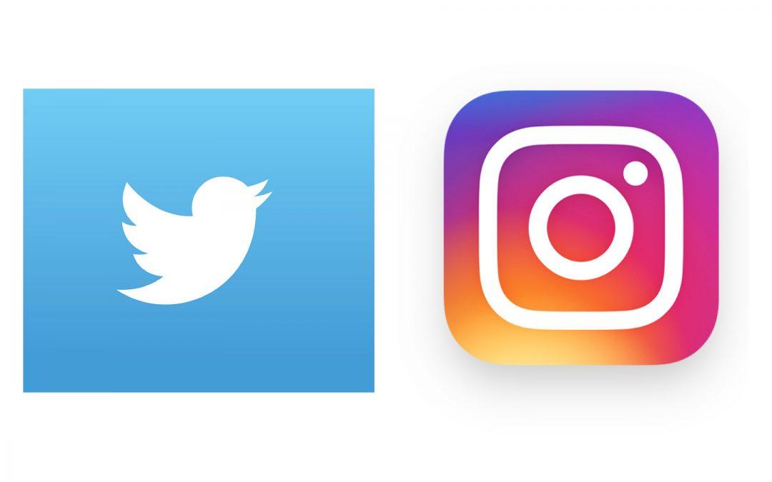 Follow us on Twitter & Instagram!