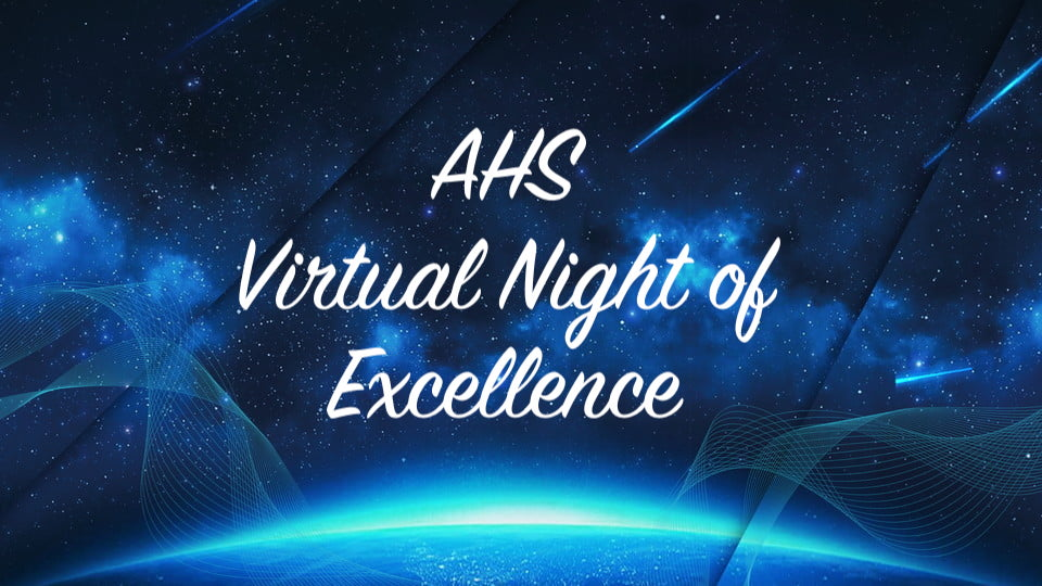 Virtual Night of Excellence!