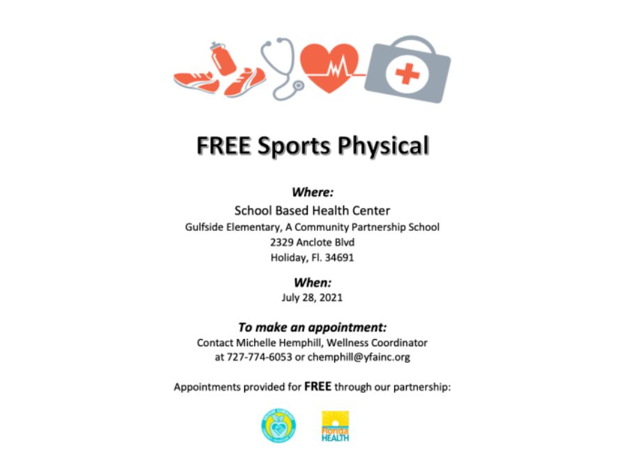 Free Sports Physical info for printing